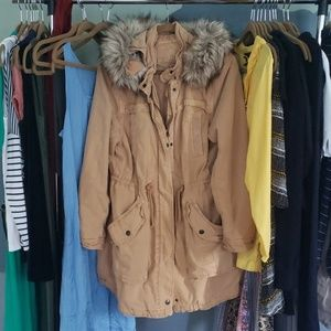 American Eagle Canvas Parka